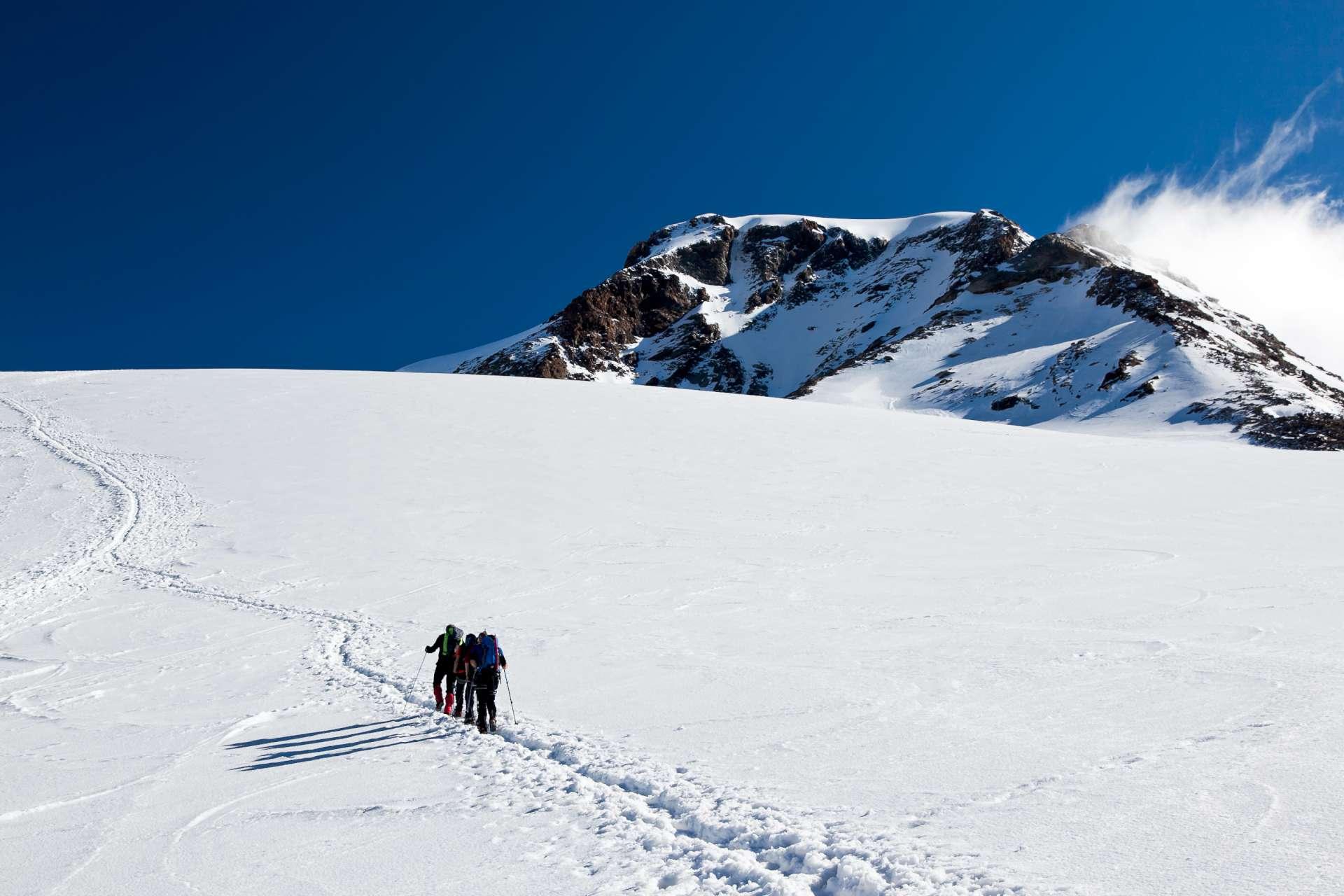 Escursionisti Monte Rosa